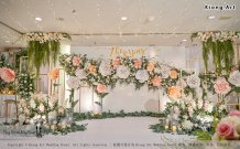 Malaysia Kuala Lumpur Wedding Decoration Kiong Art Wedding Deco One-stop Wedding Planning Selangor of Zhe and Ying Wedding at Hotel Equatorial Melaka A12-F01-02