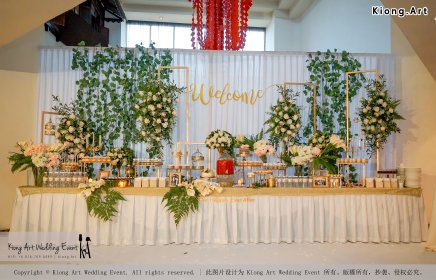 Malaysia Kuala Lumpur Wedding Decoration Kiong Art Wedding Deco One-stop Wedding Planning Selangor of Zhe and Ying Wedding at Hotel Equatorial Melaka A12-F01-23