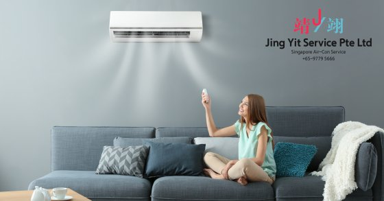 Singapore AirCon Service Air Conditioning Cleaning Repairing and Installation Air-con Gas Refill Aircon Chemical Wash Singapore Jing Yit Service Pte Ltd A000