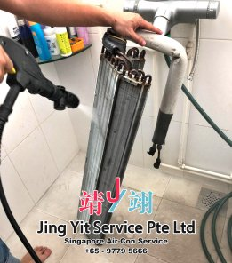 Singapore AirCon Service Air Conditioning Cleaning Repairing and Installation Air-con Gas Refill Aircon Chemical Wash Singapore Jing Yit Service Pte Ltd A02-11