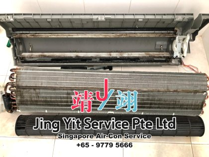 Singapore AirCon Service Air Conditioning Cleaning Repairing and Installation Air-con Gas Refill Aircon Chemical Wash Singapore Jing Yit Service Pte Ltd A02-15