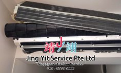 Singapore AirCon Service Air Conditioning Cleaning Repairing and Installation Air-con Gas Refill Aircon Chemical Wash Singapore Jing Yit Service Pte Ltd A02-16