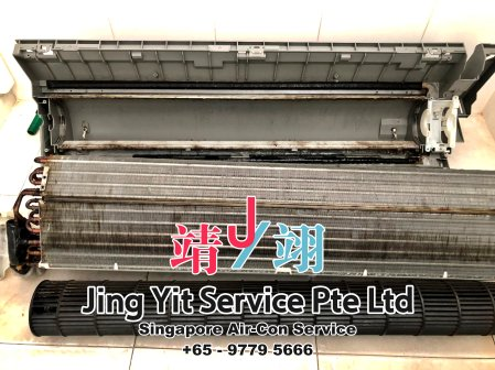 Singapore AirCon Service Air Conditioning Cleaning Repairing and Installation Air-con Gas Refill Aircon Chemical Wash Singapore Jing Yit Service Pte Ltd A02-18