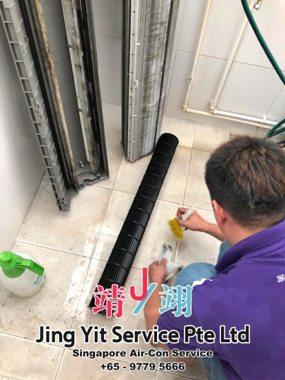 Singapore AirCon Service Air Conditioning Cleaning Repairing and Installation Air-con Gas Refill Aircon Chemical Wash Singapore Jing Yit Service Pte Ltd A02-28