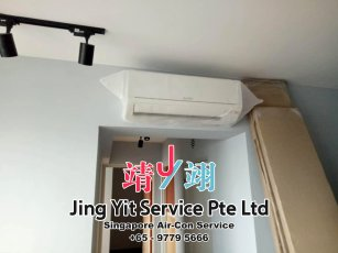 Singapore AirCon Service Air Conditioning Cleaning Repairing and Installation Air-con Gas Refill Aircon Chemical Wash Singapore Jing Yit Service Pte Ltd A03-10