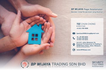 BP Wijaya Trading Sdn Bhd Fence Malaysia Selangor Kuala Lumpur manufacturer of safety fences building materials for housing construction site Security fencing factory fence house fence A01-001
