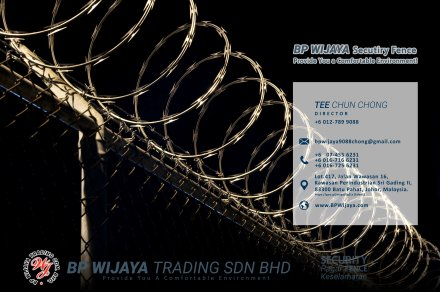 BP Wijaya Trading Sdn Bhd Fence Malaysia Selangor Kuala Lumpur manufacturer of safety fences building materials for housing construction site Security fencing factory fence house fence A01-011