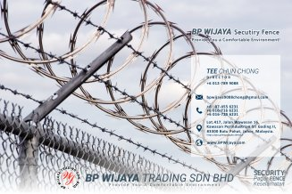 BP Wijaya Trading Sdn Bhd Fence Malaysia Selangor Kuala Lumpur manufacturer of safety fences building materials for housing construction site Security fencing factory fence house fence A01-012