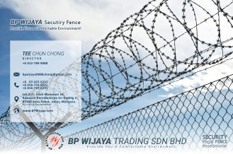 BP Wijaya Trading Sdn Bhd Fence Malaysia Selangor Kuala Lumpur manufacturer of safety fences building materials for housing construction site Security fencing factory fence house fence A01-013