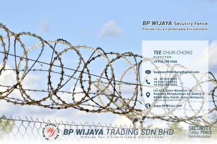 BP Wijaya Trading Sdn Bhd Fence Malaysia Selangor Kuala Lumpur manufacturer of safety fences building materials for housing construction site Security fencing factory fence house fence A01-017