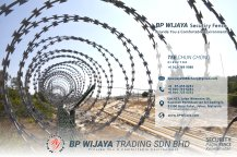 BP Wijaya Trading Sdn Bhd Fence Malaysia Selangor Kuala Lumpur manufacturer of safety fences building materials for housing construction site Security fencing factory fence house fence A01-018
