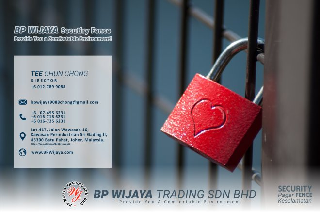 BP Wijaya Trading Sdn Bhd Fence Malaysia Selangor Kuala Lumpur manufacturer of safety fences building materials for housing construction site Security fencing factory fence house fence A01-020