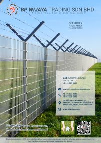 BP Wijaya Trading Sdn Bhd Fence Malaysia Selangor Kuala Lumpur manufacturer of safety fences building materials for housing construction site Security fencing factory fence house fence A01-003