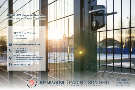 BP Wijaya Trading Sdn Bhd Fence Malaysia Selangor Kuala Lumpur manufacturer of safety fences building materials for housing construction site Security fencing factory fence house fence A01-004