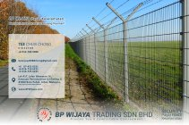 BP Wijaya Trading Sdn Bhd Fence Malaysia Selangor Kuala Lumpur manufacturer of safety fences building materials for housing construction site Security fencing factory fence house fence A01-005