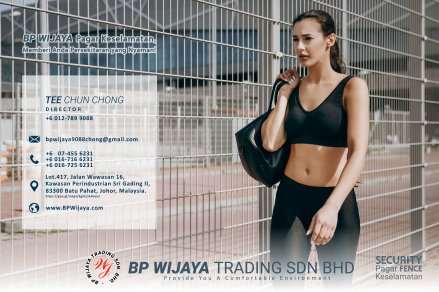 BP Wijaya Trading Sdn Bhd Fence Malaysia Selangor Kuala Lumpur manufacturer of safety fences building materials for housing construction site Security fencing factory fence house fence A01-006
