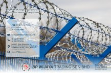 BP Wijaya Trading Sdn Bhd Fence Malaysia Selangor Kuala Lumpur manufacturer of safety fences building materials for housing construction site Security fencing factory fence house fence A01-008