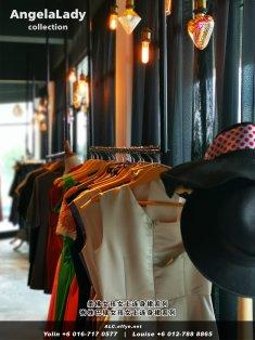 柔佛峇株巴辖 女孩女士连身裙 Angela Lady Collection 女士晚装 长裙 晚礼服 晚礼服裙 潮流精品 时尚饰品 女士服装衣服 牛仔裤 裙子 裤子 马来西亚 A01-001