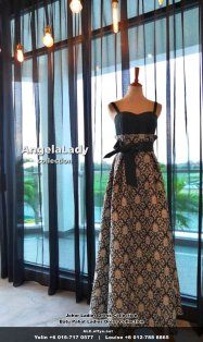 Johor Batu Pahat Ladies Dress Boutique Angela Lady Collection Dinner Dress Evening Gown Maxi Dress Evening Dress Gown Boutique Fashion Lady Apparel Clothes Jeans Skirt Pants Malaysia A01-004