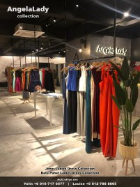 Johor Batu Pahat Ladies Dress Boutique Angela Lady Collection Dinner Dress Evening Gown Maxi Dress Evening Dress Gown Boutique Fashion Lady Apparel Clothes Jeans Skirt Pants Malaysia A01-005
