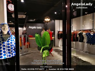 Johor Batu Pahat Ladies Dress Boutique Angela Lady Collection Dinner Dress Evening Gown Maxi Dress Evening Dress Gown Boutique Fashion Lady Apparel Clothes Jeans Skirt Pants Malaysia A01-012
