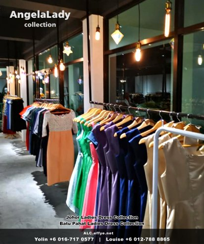Johor Batu Pahat Ladies Dress Boutique Angela Lady Collection Dinner Dress Evening Gown Maxi Dress Evening Dress Gown Boutique Fashion Lady Apparel Clothes Jeans Skirt Pants Malaysia A01-014