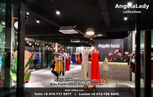 Johor Batu Pahat Ladies Dress Boutique Angela Lady Collection Dinner Dress Evening Gown Maxi Dress Evening Dress Gown Boutique Fashion Lady Apparel Clothes Jeans Skirt Pants Malaysia A01-002