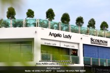 Johor Batu Pahat Ladies Dress Boutique Angela Lady Collection Dinner Dress Evening Gown Maxi Dress Evening Dress Gown Boutique Fashion Lady Apparel Clothes Jeans Skirt Pants Malaysia A03-006