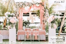 Malaysia Kuala Lumpur Wedding Decoration Kiong Art Wedding Deco Eternal Registration of Marriage Ceremony Open-air Party of Jack and Fish ROM at Kluang Container Hotel A14-A01-010
