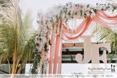 Malaysia Kuala Lumpur Wedding Decoration Kiong Art Wedding Deco Eternal Registration of Marriage Ceremony Open-air Party of Jack and Fish ROM at Kluang Container Hotel A14-A01-014