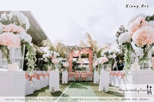 Malaysia Kuala Lumpur Wedding Decoration Kiong Art Wedding Deco Eternal Registration of Marriage Ceremony Open-air Party of Jack and Fish ROM at Kluang Container Hotel A14-A01-015