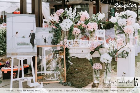 Malaysia Kuala Lumpur Wedding Decoration Kiong Art Wedding Deco Eternal Registration of Marriage Ceremony Open-air Party of Jack and Fish ROM at Kluang Container Hotel A14-A01-017