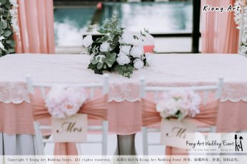 Malaysia Kuala Lumpur Wedding Decoration Kiong Art Wedding Deco Eternal Registration of Marriage Ceremony Open-air Party of Jack and Fish ROM at Kluang Container Hotel A14-A01-023