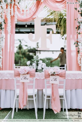 Malaysia Kuala Lumpur Wedding Decoration Kiong Art Wedding Deco Eternal Registration of Marriage Ceremony Open-air Party of Jack and Fish ROM at Kluang Container Hotel A14-A01-025
