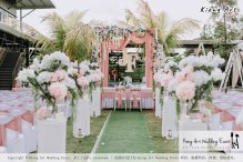 Malaysia Kuala Lumpur Wedding Decoration Kiong Art Wedding Deco Eternal Registration of Marriage Ceremony Open-air Party of Jack and Fish ROM at Kluang Container Hotel A14-A01-026