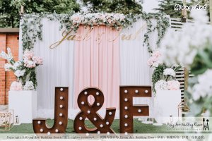 Malaysia Kuala Lumpur Wedding Decoration Kiong Art Wedding Deco Eternal Registration of Marriage Ceremony Open-air Party of Jack and Fish ROM at Kluang Container Hotel A14-A01-029