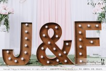 Malaysia Kuala Lumpur Wedding Decoration Kiong Art Wedding Deco Eternal Registration of Marriage Ceremony Open-air Party of Jack and Fish ROM at Kluang Container Hotel A14-A01-030