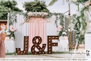 Malaysia Kuala Lumpur Wedding Decoration Kiong Art Wedding Deco Eternal Registration of Marriage Ceremony Open-air Party of Jack and Fish ROM at Kluang Container Hotel A14-A01-032