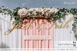 Malaysia Kuala Lumpur Wedding Decoration Kiong Art Wedding Deco Eternal Registration of Marriage Ceremony Open-air Party of Jack and Fish ROM at Kluang Container Hotel A14-A01-037