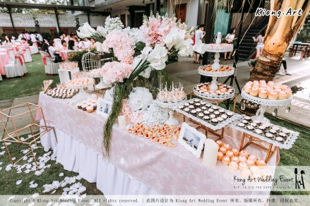 Malaysia Kuala Lumpur Wedding Decoration Kiong Art Wedding Deco Eternal Registration of Marriage Ceremony Open-air Party of Jack and Fish ROM at Kluang Container Hotel A14-A01-047