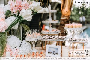 Malaysia Kuala Lumpur Wedding Decoration Kiong Art Wedding Deco Eternal Registration of Marriage Ceremony Open-air Party of Jack and Fish ROM at Kluang Container Hotel A14-A01-063