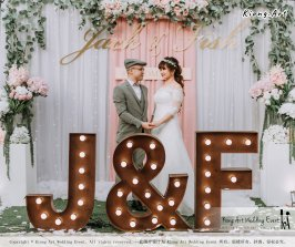 Malaysia Kuala Lumpur Wedding Decoration Kiong Art Wedding Deco Eternal Registration of Marriage Ceremony Open-air Party of Jack and Fish ROM at Kluang Container Hotel A14-A01-065