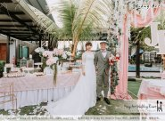 Malaysia Kuala Lumpur Wedding Decoration Kiong Art Wedding Deco Eternal Registration of Marriage Ceremony Open-air Party of Jack and Fish ROM at Kluang Container Hotel A14-A01-070