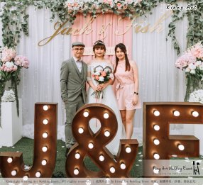 Malaysia Kuala Lumpur Wedding Decoration Kiong Art Wedding Deco Eternal Registration of Marriage Ceremony Open-air Party of Jack and Fish ROM at Kluang Container Hotel A14-A01-074