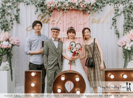 Malaysia Kuala Lumpur Wedding Decoration Kiong Art Wedding Deco Eternal Registration of Marriage Ceremony Open-air Party of Jack and Fish ROM at Kluang Container Hotel A14-A01-078