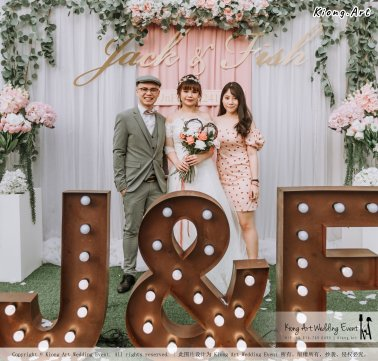 Malaysia Kuala Lumpur Wedding Decoration Kiong Art Wedding Deco Eternal Registration of Marriage Ceremony Open-air Party of Jack and Fish ROM at Kluang Container Hotel A14-A01-079