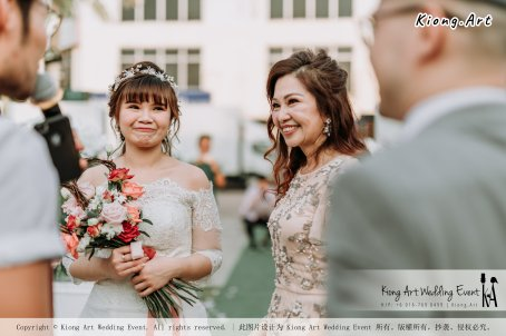 Malaysia Kuala Lumpur Wedding Decoration Kiong Art Wedding Deco Eternal Registration of Marriage Ceremony Open-air Party of Jack and Fish ROM at Kluang Container Hotel A14-A01-096