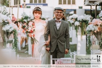Malaysia Kuala Lumpur Wedding Decoration Kiong Art Wedding Deco Eternal Registration of Marriage Ceremony Open-air Party of Jack and Fish ROM at Kluang Container Hotel A14-A01-106