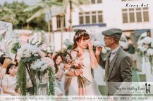 Malaysia Kuala Lumpur Wedding Decoration Kiong Art Wedding Deco Eternal Registration of Marriage Ceremony Open-air Party of Jack and Fish ROM at Kluang Container Hotel A14-A01-108