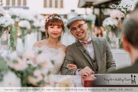 Malaysia Kuala Lumpur Wedding Decoration Kiong Art Wedding Deco Eternal Registration of Marriage Ceremony Open-air Party of Jack and Fish ROM at Kluang Container Hotel A14-A01-111